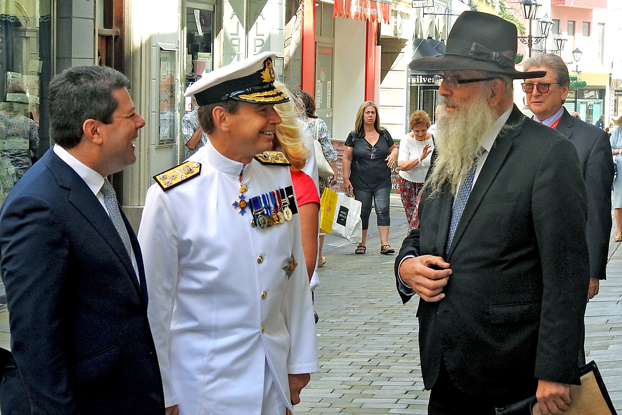 Gibraltar has a new governor